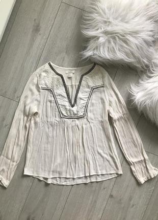 Пляжна сорочка, блуза з вишивкою, легка сорочка