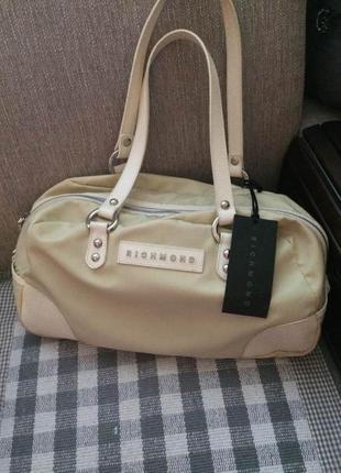 Стильная сумка richmond,италия,оригинал,новая, 35х20