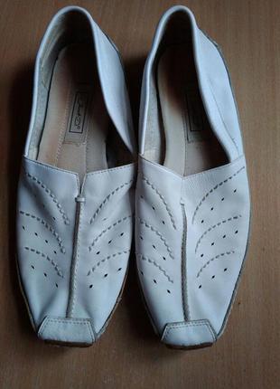 Janet d.мокасины туфли кожа 39р. 25 см