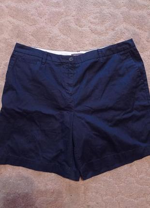 Хлопковые брючные шорты шорти большого размера на шикарные формы