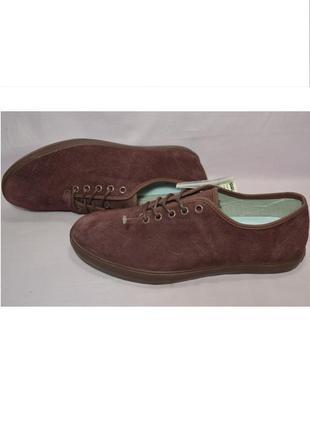 Р.43 vans, сша, натуральная замшевая кожа! модные, суперкомфортные туфли кеды