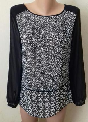 Блуза с принтом marks & spencer