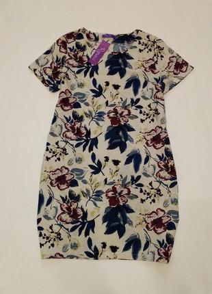 Новое натуральное платье romacci, 100% хлопок