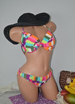 S - м стильный яркий женский раздельный купальник бикини firefly