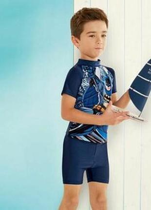 Солнцезащитный пляжный костюм для мальчика batman р.74-80