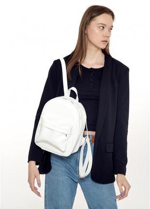 Жіночий рюкзак sambag brix ksh білий, 11311008