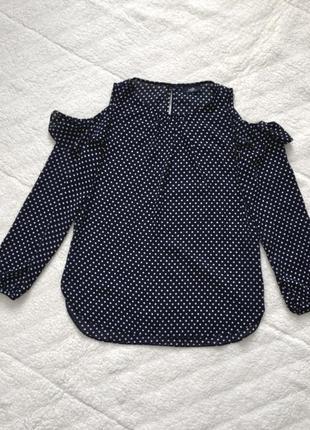 Блуза з відкритими плечиками