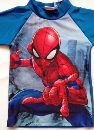 Солнцезащитная пляжная футболка spider-man р.74-80