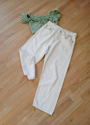 Широкие джинсы (мом) с высокой посадкой levis