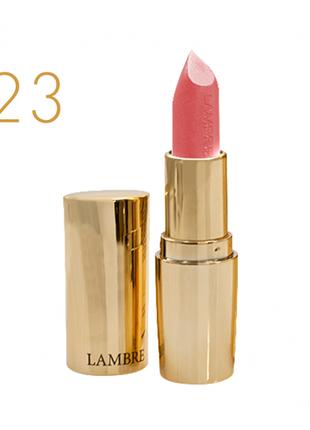 Классическая помада classic exclusive colour №23 розовый коралл - полуматовый