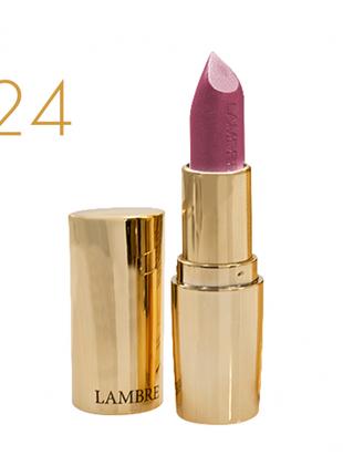 Классическая помада classic exclusive colour №24  атласный розовый - полуматовый