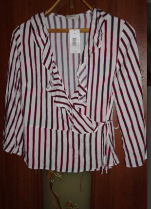 Вискозная блуза/накидка/пиджак