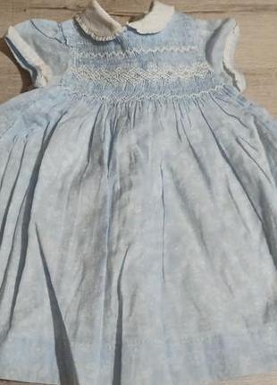 Платье хлопок gocco