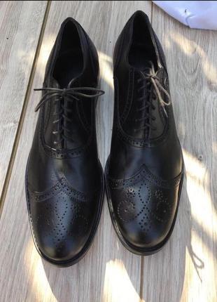 Туфли ручной работы стильные оксфорды броги лоферы актуальные натуральные кожаные кожа zara asos h&m massimo dutti тренд теснение