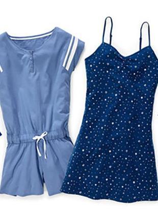 Летний комбинезон ромпер для дома пижама blue motion.2 фото