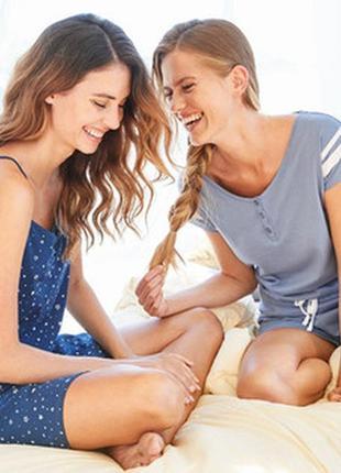 Летний комбинезон ромпер для дома пижама blue motion.3 фото