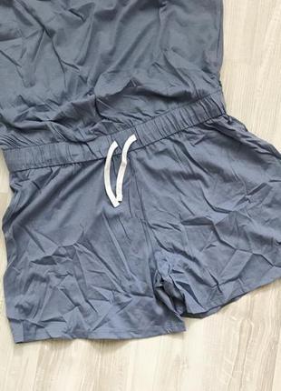 Летний комбинезон ромпер для дома пижама blue motion.5 фото
