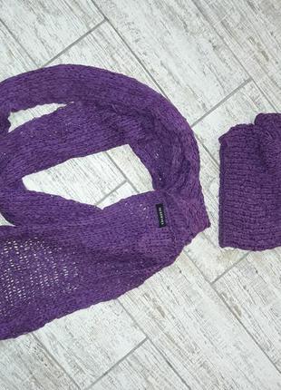 Набор шарф-снуд и шапочка