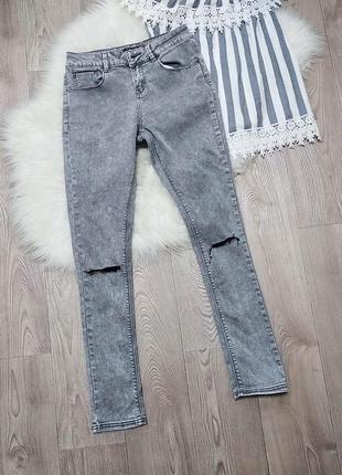 Женские стрейчевые зауженные джинсы скинни skinny