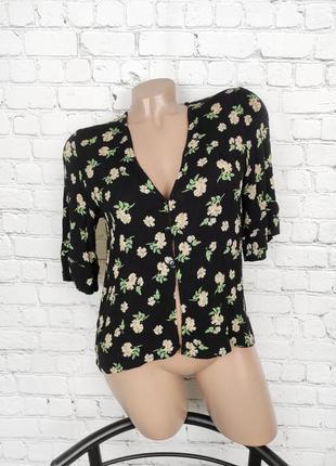 Блуза цветочный принт #11