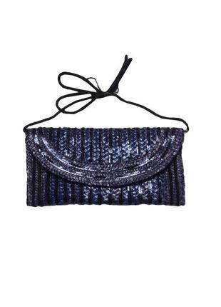 Модный летний клатч сумка соломка atmosphere /1382/