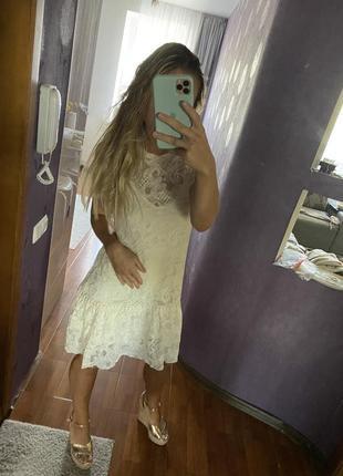 Классное летнее платье zara