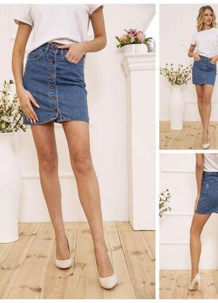 ‼️супер цена ‼️джинсовая летняя юбка