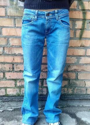 Джинсы levis 572 boot cut / w 28 l 30