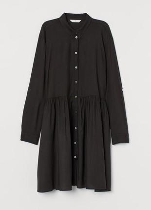 Чорне черное плаття 👗 платье рубашка esmara