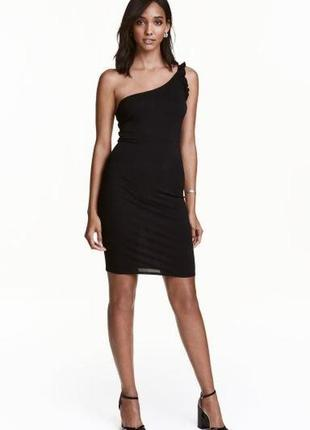 Платье плаття 👗 коктельное чёрное платье h&m