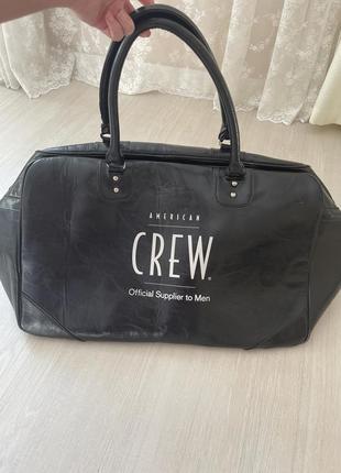 Кожаная сумка ручная кладь дорожная сумка