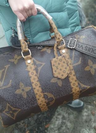 Крутая дорожная сумка от луи