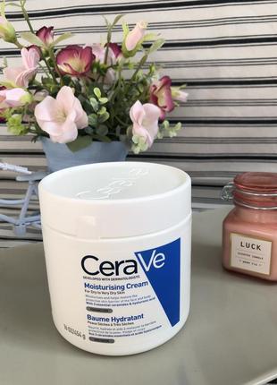 Cerave увлажняющий крем для лица и тела 454 гр