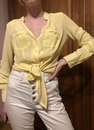 Оригинальная блузка красивого цвета