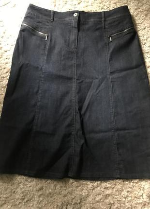 Юбка дорогой фирмы джинсовая