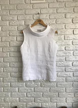 Лляна  блузка футболка льон, леная блуза