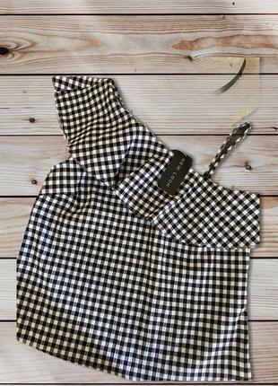Летняя блуза 🍉🍉🍉 на одно плечо