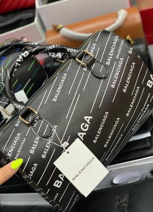 💥 хит сумка чемоданчик кожаная принт лого