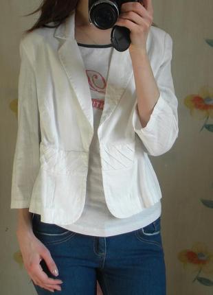 Пиджак летний, натуральная ткань