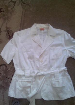 Пиджак летний из натуральной ткани