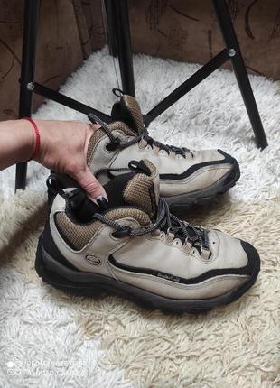 Демисезонные брендовые нубуковые ботинки timberland на стопу 23,5-24 см