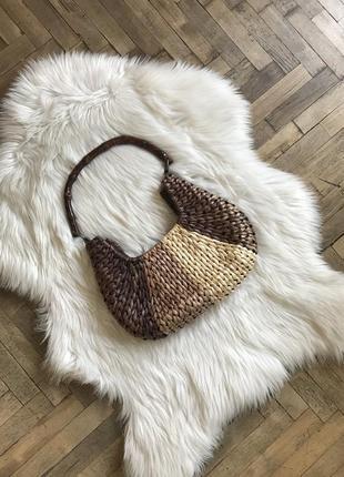 Винтажная сумочка из соломки atmosphere