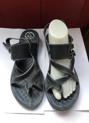 Шкіряні босоніжки, босоножки, взуття, обувь