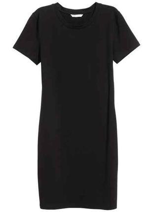 Базовое платье футболка из органического хлопка  hema