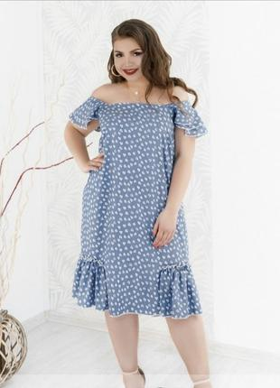 Лёгкое и красивое платье в романтическом стиле+ бесплатная доставка 💙