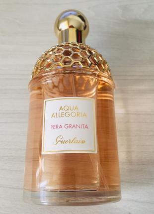 Герлейн распив guerlain aqua allegoria pera granita распив туалетная вода