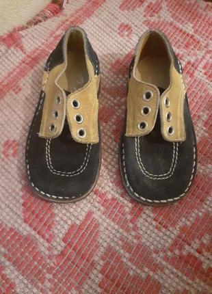 Osbornia туфли детские .кожаные