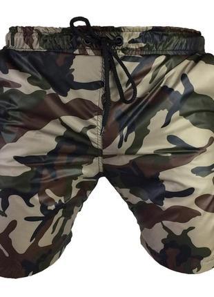 Мужские пляжные шорты для купания камуфляжные