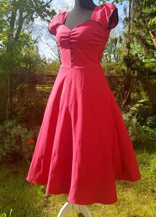 Lindy bop рожева сукня bella dress у вінтажному стилі 1950-х років pin up girl