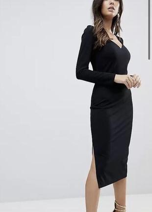 Классическое платье миди карандаш asos